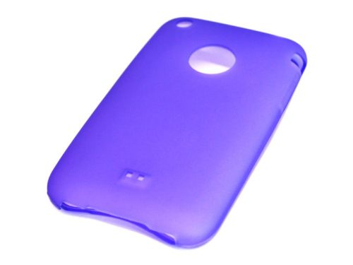 Untitled document Silicone Full Cover Case for iPhone 3G/3GS Μώβ