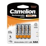 Untitled document 	   Product Description :Battery Camelion AAA 1100mAH (4 Pcs)Specifications :NiMH Micro Batteries