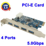 Untitled document 	  Overview  		 	Specification: 1) Fully compliant with PCI Express Base Specification Revision 2.0 2) Single-lane (x1) PCI Express throughput rates up to 5 Gbps 3) Compliant with Universal Serial Bus 3.0 specification Revision 1.0 4) Supports simultaneous operation of multiple USB 3.0