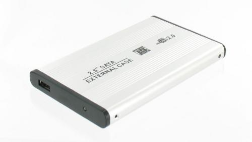 Untitled document    Usb External Aluminium Shell For 2.5 SATA usb 2.0Product DetailsSpecifications :Lightweight aluminium shell with internal SATA connection. Slim and portable design.1) The smallest 2.5 case with internal SATA connection2) No external power supply