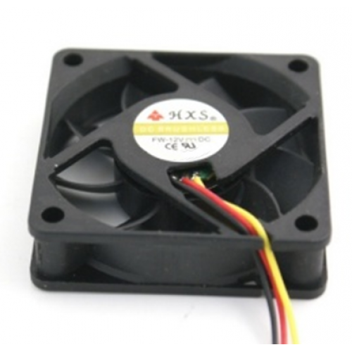 Untitled document    Fan 60mm 3P - 63026Dimensions: 60 (L) x60 (W) x15 (H) MMBearing Type: BallRated voltage: 12VDCCurrent Rating: 0.03Speed: 3
