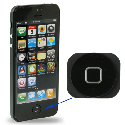 Untitled document    Overview :   1) Home Button for iPhone 5  2) Color: Black
