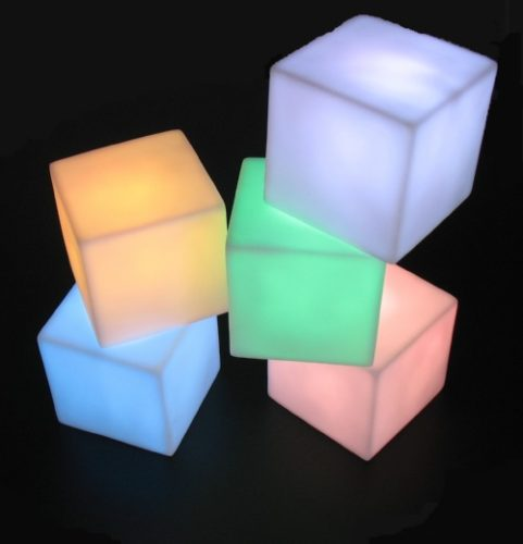 Untitled document    Specifications : Led Cube With 7 Colors LED Lights!This LED Cube is very beautiful for your desk