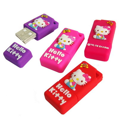 Untitled document 	  Overview  	1) Compact in size and easy to carry 2) Longevity life time and durable to use 3) Cute Hello Kitty Image  4) Flexible rubber shell