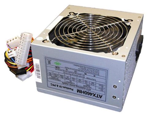 Untitled document    Product description :Super Silent ATX Power Supply 460 WattSpecifications :Audible noise: 18 dBPerformance in Wat : 460 WattsSize of the power supply fan: 120 mmColor: SilverConnectors: 1 x 20/24 Pin ATX Power 3 x Sata Power 2 x 4-pin Molex 1 x 4-pin Floppy Disk 1 X 4-Pin 12V