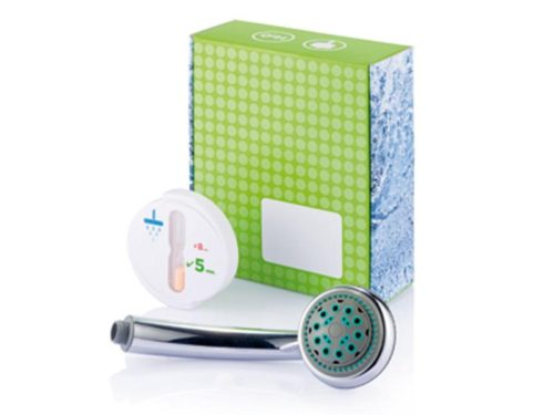 Untitled document 	            	Product description :             Water saving energy set including 5-min shower coach and ABS shower head with adjustable water saving function.                                                    	Specifications :             Carton Mesures: 24 x 20