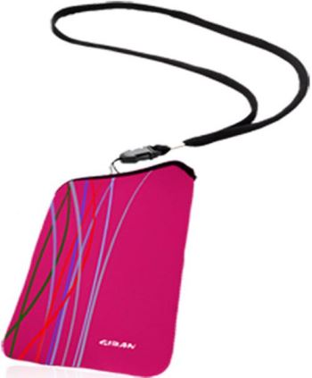 Untitled document Θήκη Giban gia iPhone Sleeve Fun Pink/Black SpecificationsThe Mobile Gear Line is unprecedented in the market. The sleeve is made of soft neoprene to protect your smartphone or iPhone models with comparable size. The sleeve is equipped with a handy neck strap. The sleeves are not zip the content to protect against scratches. * Suitable for the iPhone or smartphone models with similar sizes * Reversible in contrasting colors. * Washable wasmachiene * Neoprene