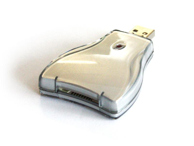 Untitled document 	  Technical data USB 2.0 Card Reader Backward compatible with USB 1.1 Compatible with Windows 98 Dimensions approx 7cm * 5cm * 1