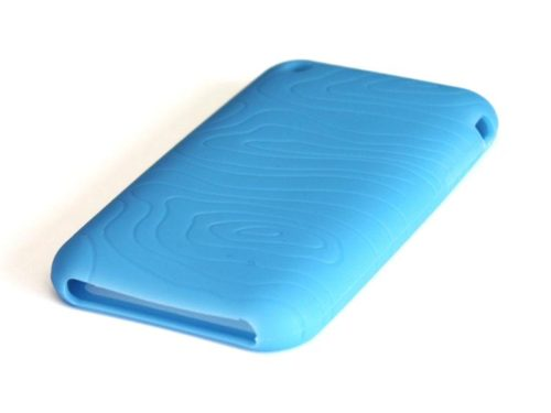 Untitled document Silicone Full Cover Case for iPhone 3G/3GS Blue (Γαλάζιο)