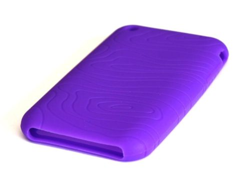 Untitled document   Silicone Full Cover Case for iPhone 3G/3GS Lila (μωβ)