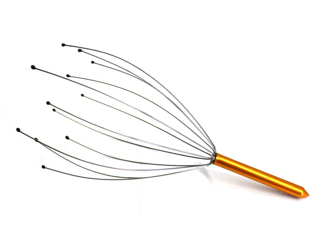 Untitled document 	   HeadmassagerProduct descriptionThis Head massager will be enough to send you into a chilled out state of bliss.    Specifically designed to stimulate your nerve endings and massage acupressure points  on your scalp