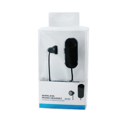 Bluetooth Handsfree BH65 Clip On Mono Μαυρο